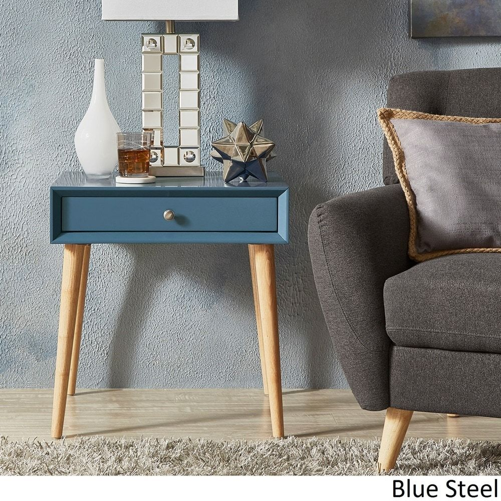Marin Danish Modern 1-drawer Accent End Table iNSPIRE Q Modern |  Overstock.com