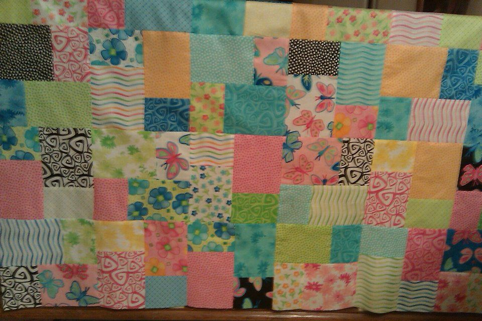 Double sliced layer cake in twirl by moda fabrics one of