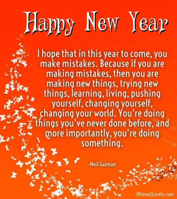 New Year Thoughts Inspirational