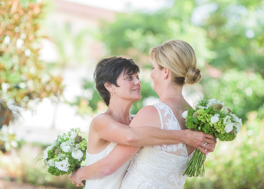 Lesbian marriage in california entertaining