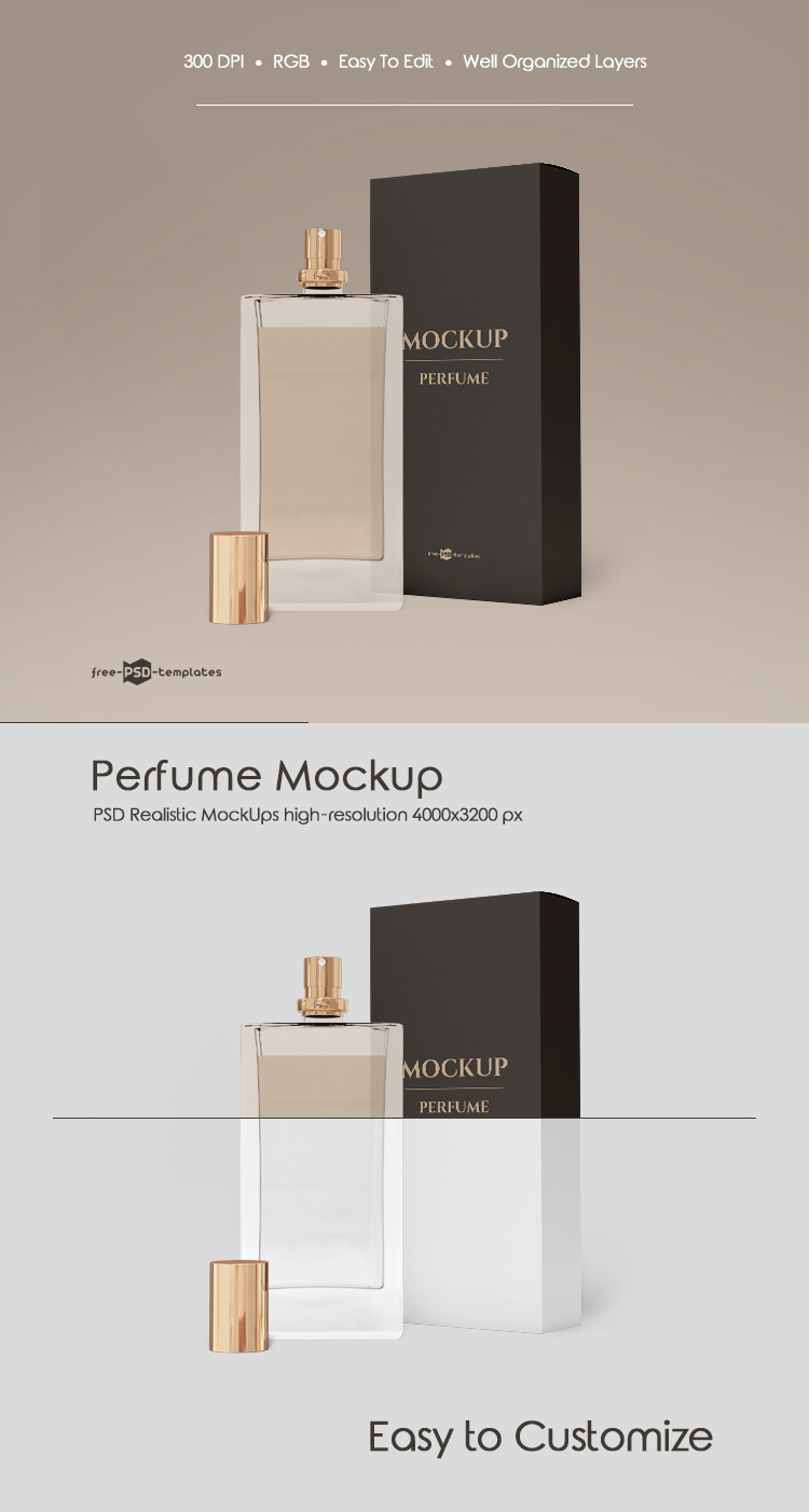 Download Pin By Nujood Jamal On Mockup Free Perfume Psd Template Free Mockup