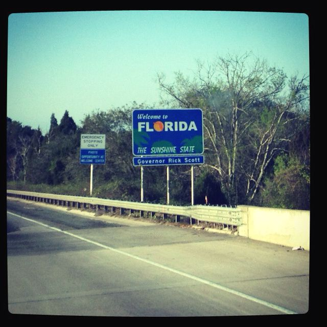 Getting closer to Daytona Beach, FL for the unveiling.