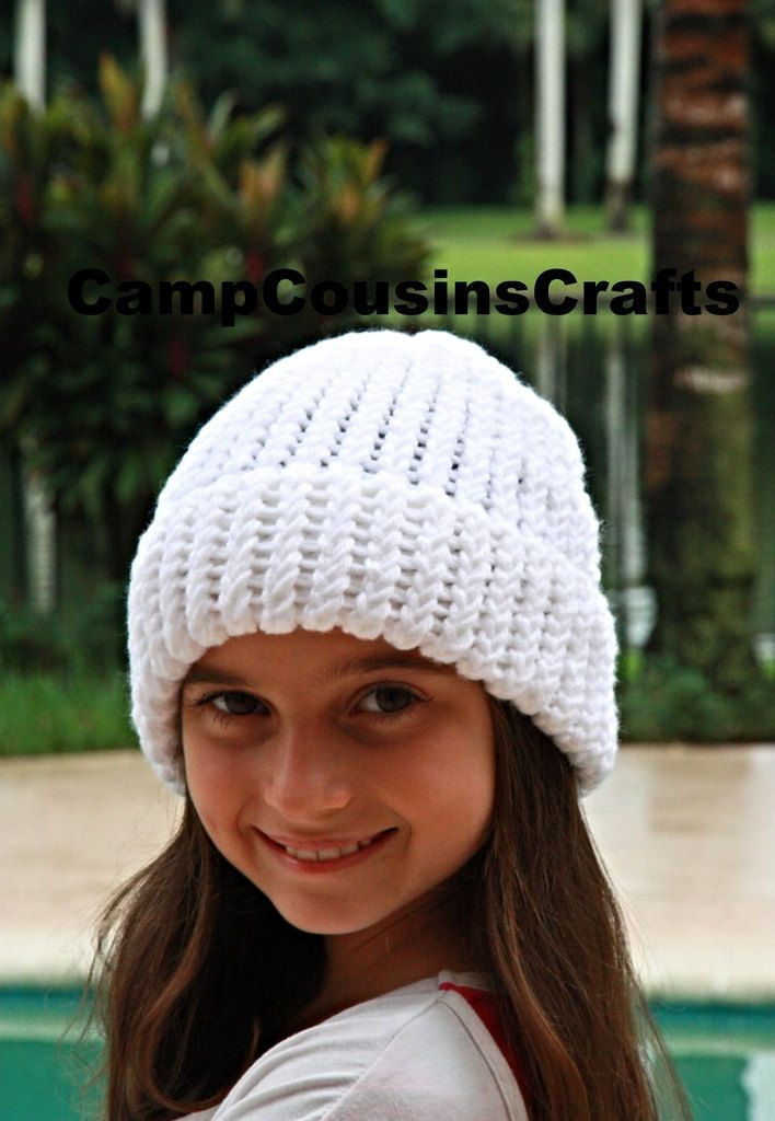 White knit HAT b27fba6a6d9
