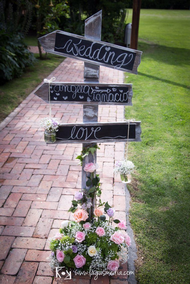 letrero boda vintage wedding details pinterest ideas para