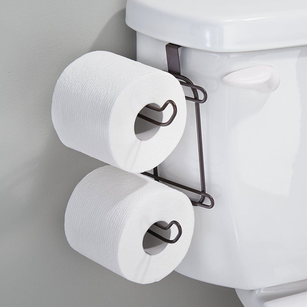 2 Pc Toilet Paper Holder Spool Replacement Tissue Roll Spindle
