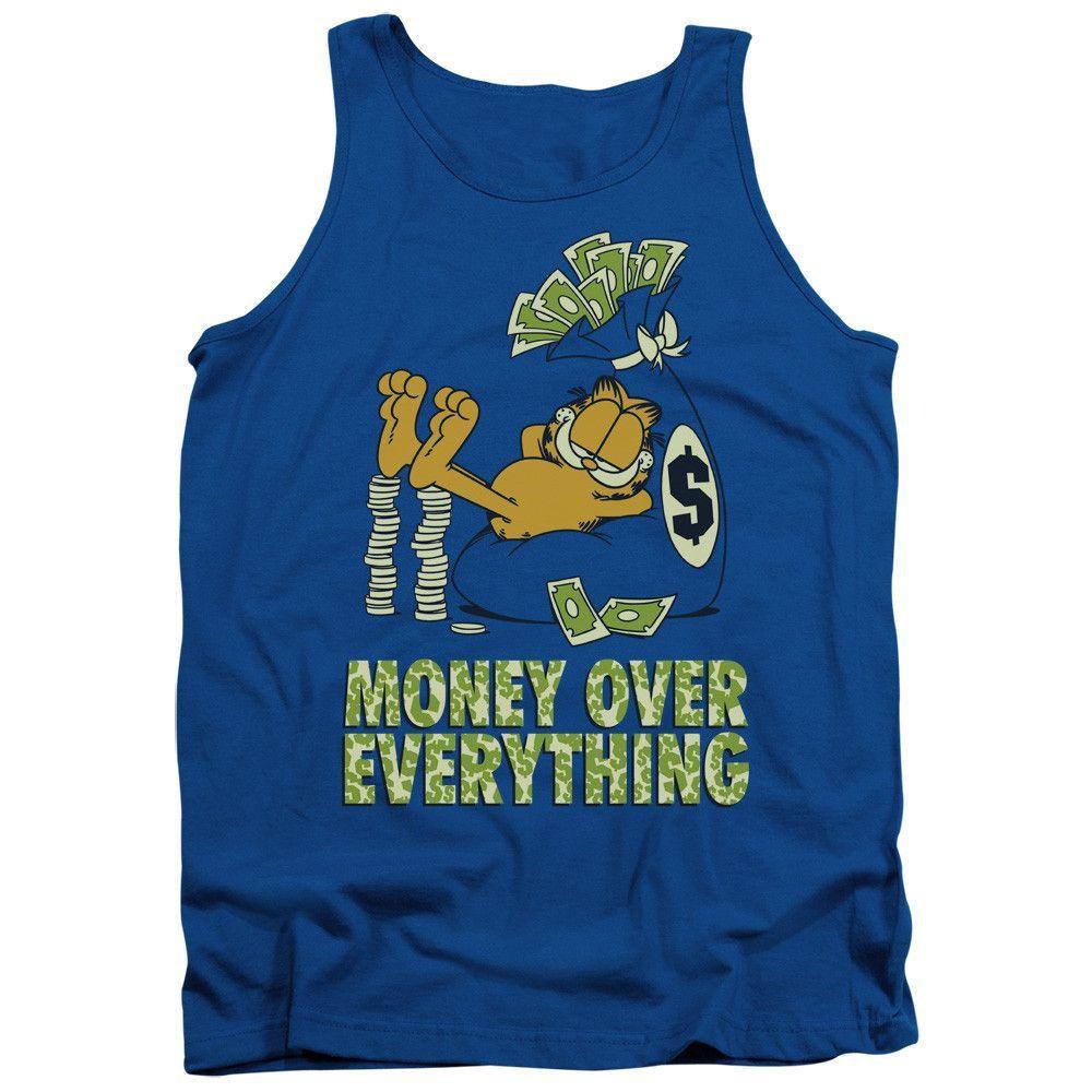 Garfield: Money Is Everything Tank Top