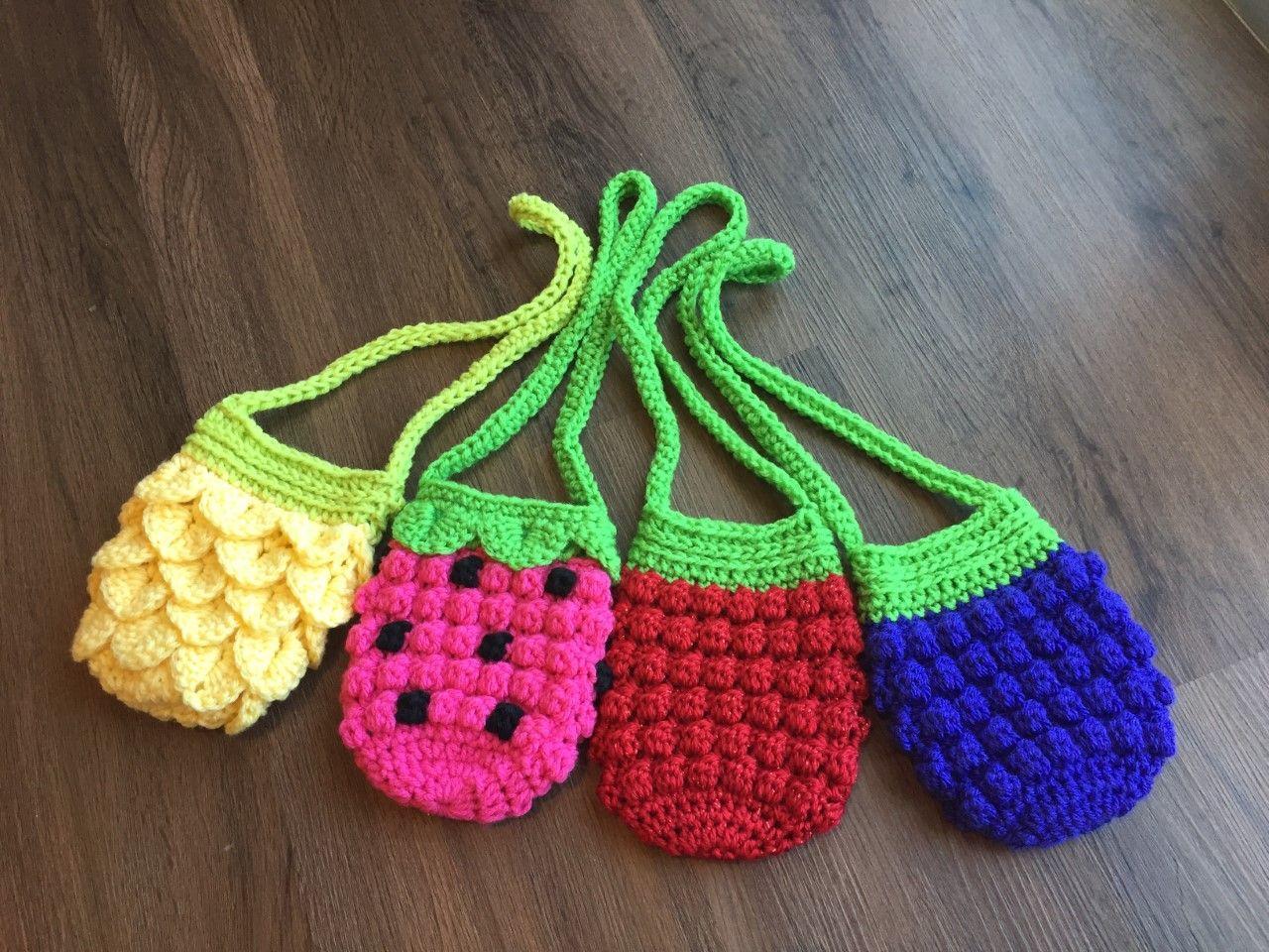 CUTE Girl/'s Sunflower Purse//Bag//CROCHET PATTERN INSTRUCTIONS ONLY