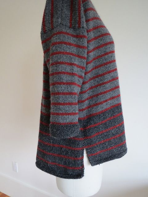 Ravelry: wilkygirl\'s A Study in Grey & Stripes | Strik | Pinterest ...