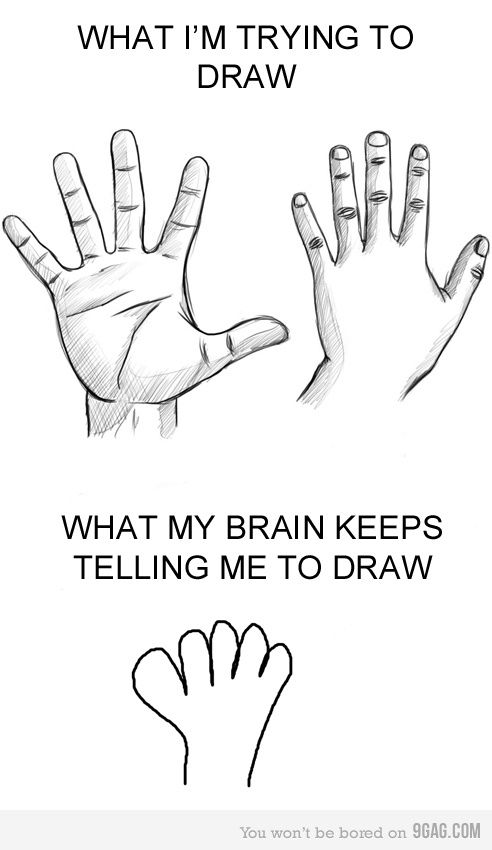 Reality How To Draw Hands Just For Laughs Humor