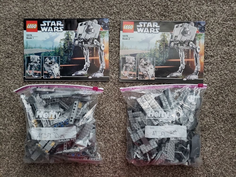 Lego Star Wars Ucs At St 10174 100 Complete Winstructions