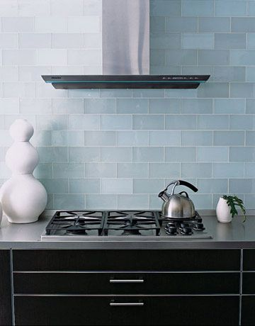 Stoves That Sizzle Glass Backsplash Kitchen Glass Subway Tile