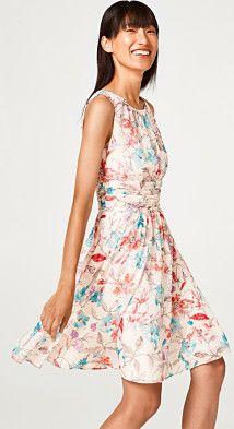 Esprit collection kleid blumen