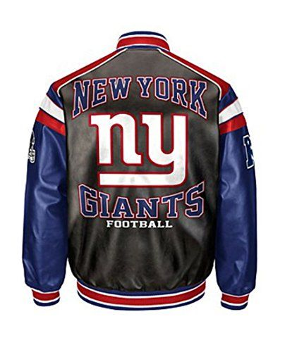 low priced 8f302 59c8e New York Giants Leather Jacket | NFL Leather Jackets | Team ...