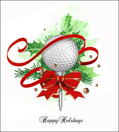 Golf Course Photo Greeting Cards Google Search Golf Note Cards - Golf christmas cards