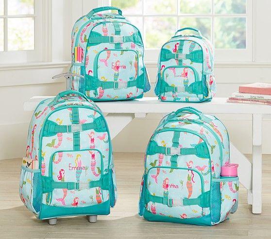 Mackenzie Aqua Mermaids Backpacks Girl Backpacks