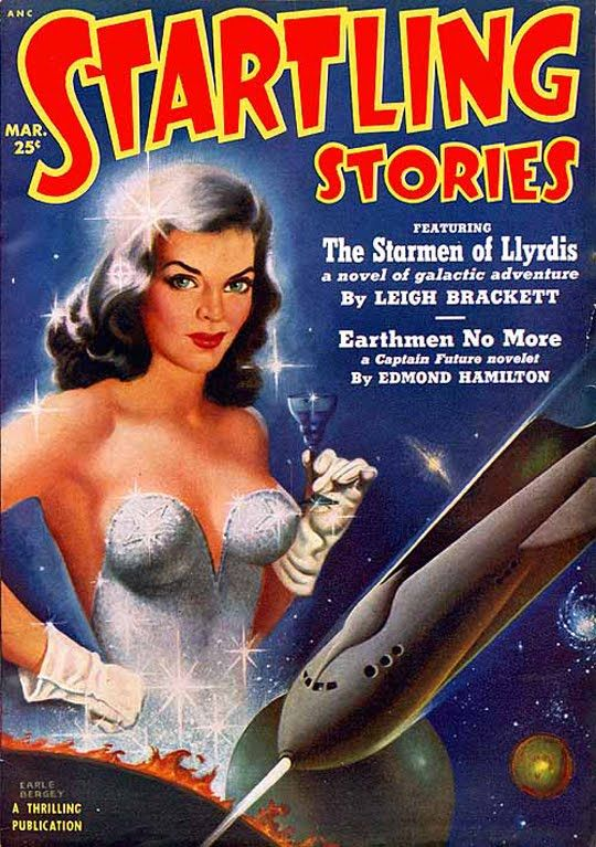 earle bergey space babe