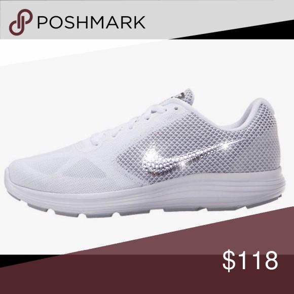 Bling Nike Revolution 3 Running Shoes w  Swarovski  e38a7eab7