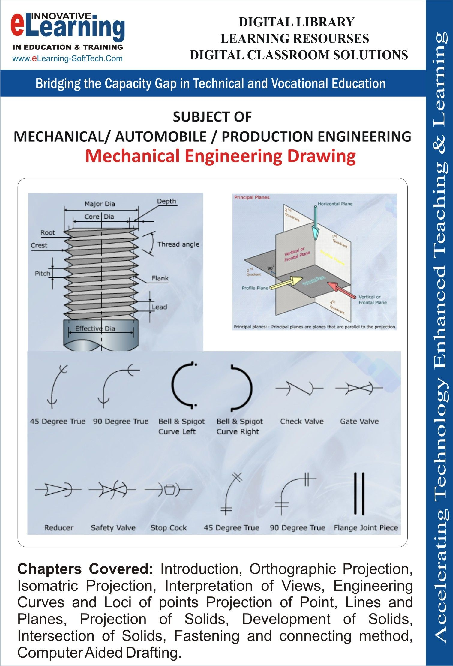 elearning software solution for mechanical engineering drawing rh pinterest com
