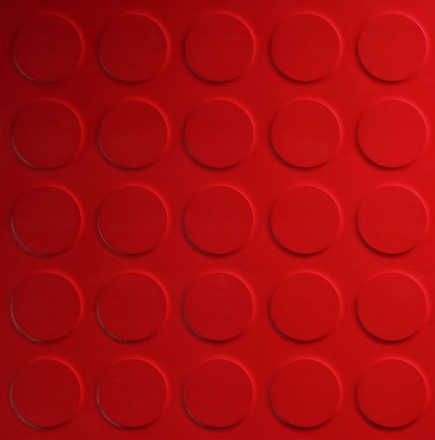 Red floor tiles rubber flooring uk red and white kitchen - Rubber flooring for kitchens and bathrooms ...