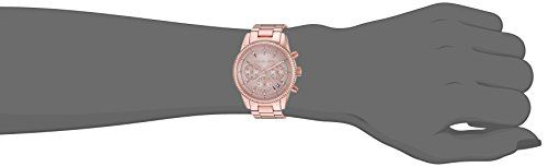 a84939f5610 Michael Kors Women s Ritz Rose Gold-Tone Watch MK6357