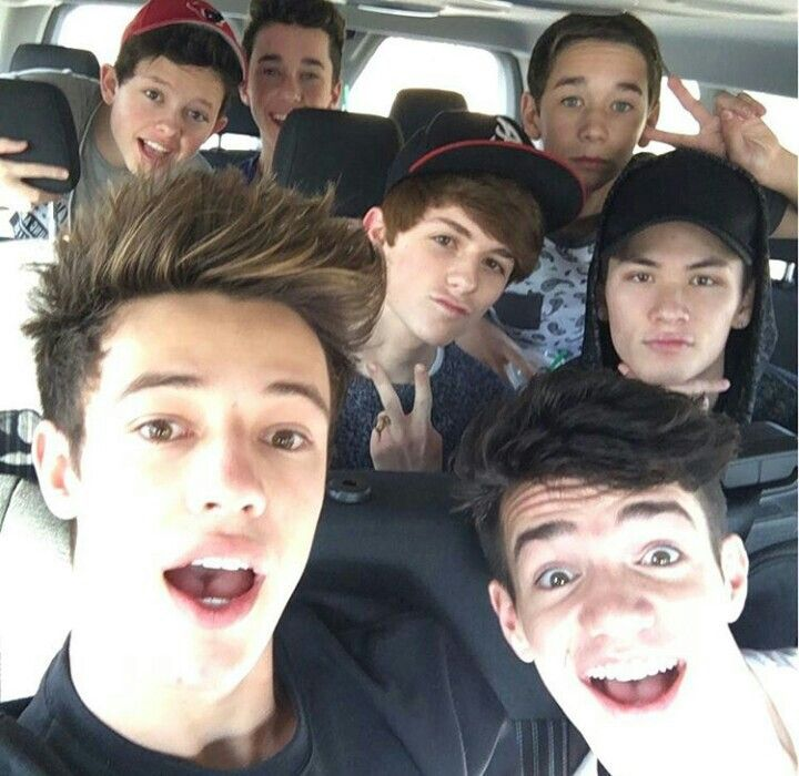 Magcon 2016 I Miss The Old Ones But At Least Cameron Aaron And Taylor Are There Magcon Magcon Boys 2016 Magcon Boys