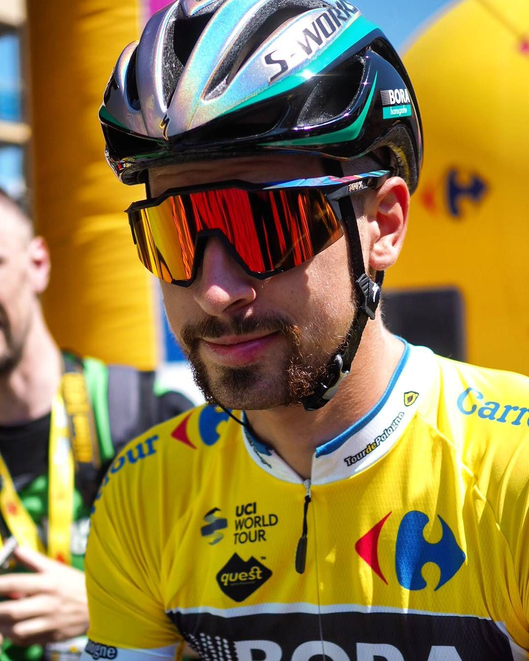Peter Sagan, the 1st leader of Tour de Pologne 2017 on the start of Stage 2