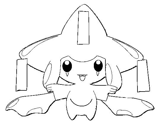 Coloring Pages Pokemon Jirachi Drawings Pokemon Pokemon Coloring Pages Pokemon Sketch Pokemon