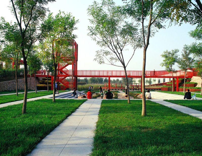 Turenscape Bridged Gardens Esterno