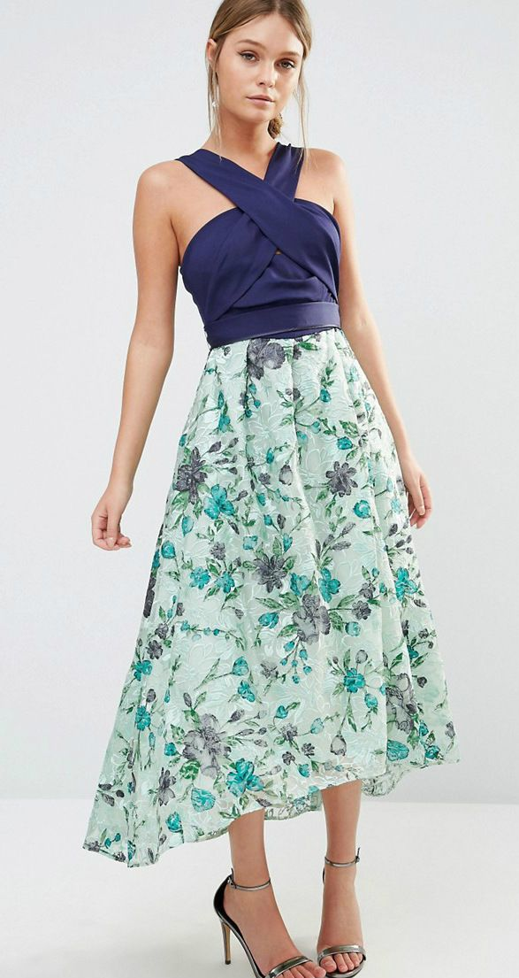 Two Piece Midi Dress By Coast Perfect Summer Wedding Guest