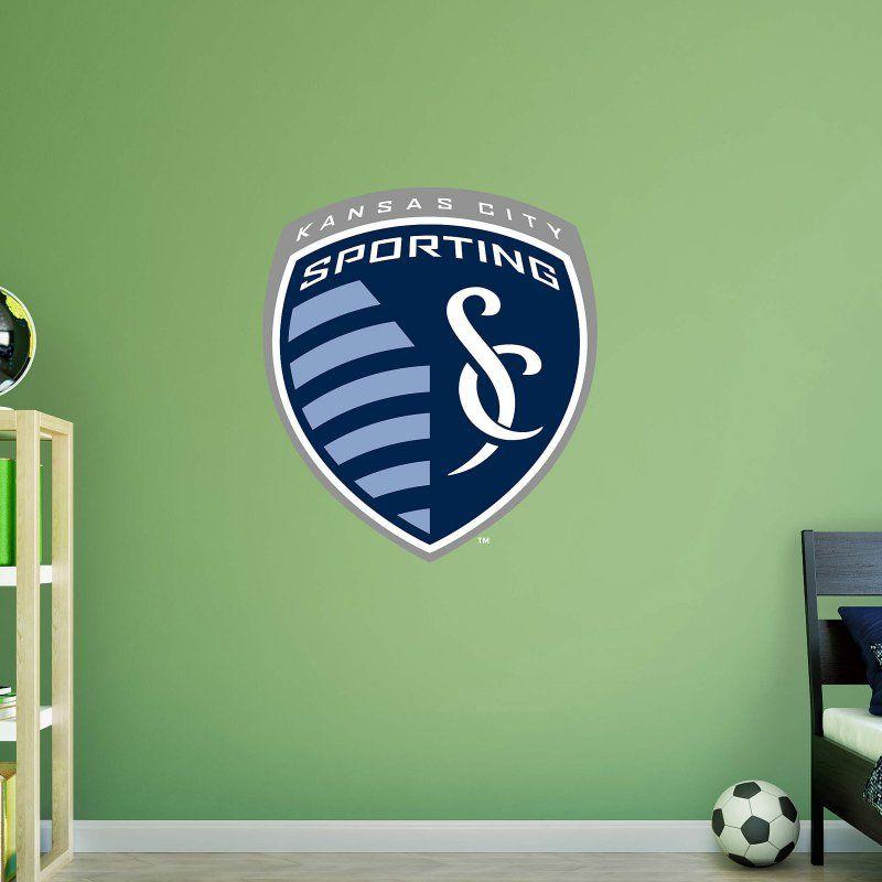 Fathead MLS Sporting Kansas City Logo Wall Decal - Sporting kc wall decals