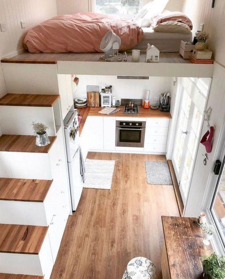 53 The Best Tiny House Living Room Decor Ideas images