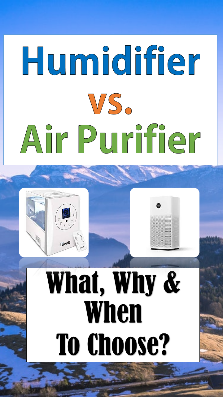 Humidifier Vs. Air Purifier What Is The Difference? Air
