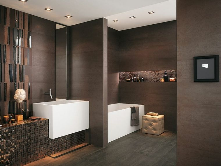 plafond salle de bain peinture et style en 40 ides - Peindre Un Plafond De Salle De Bain