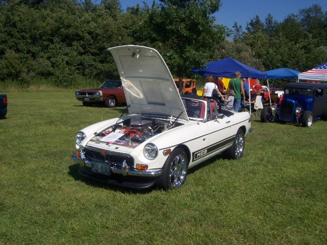 1973 MGB GT convertible V8 conversion