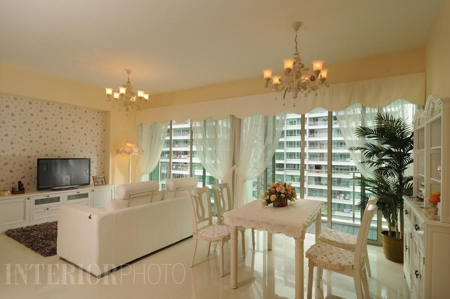 Livia interiorphoto condo home interior kitchen - Home improvement ideas living room ...