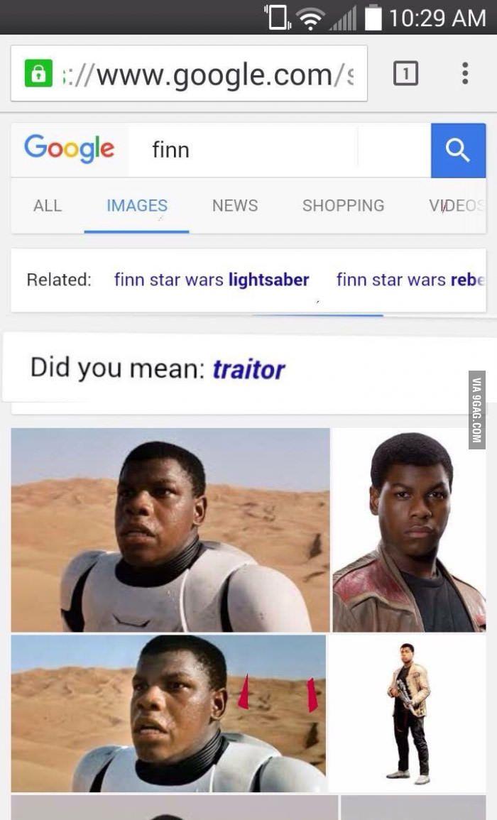 Oh C Mon Google Star Wars Humor Star Wars Memes Finn Star Wars