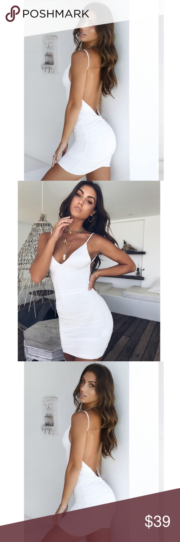 New Tiger Mist Ally Dress White Xs Stretchy Dress Tiger Mist Dress Dresses [ 1740 x 580 Pixel ]