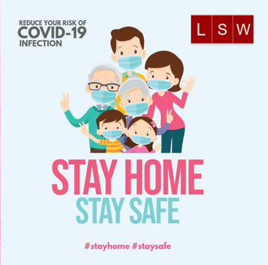 Stay Home Stay Safe Stay Safe Home Poster Campaign Posters