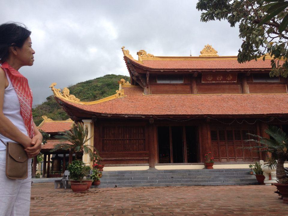 Van son temple ,Con Dao archipelago island vietnam
