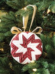 How to make a No-Sew ornament and free ornament patterns ...