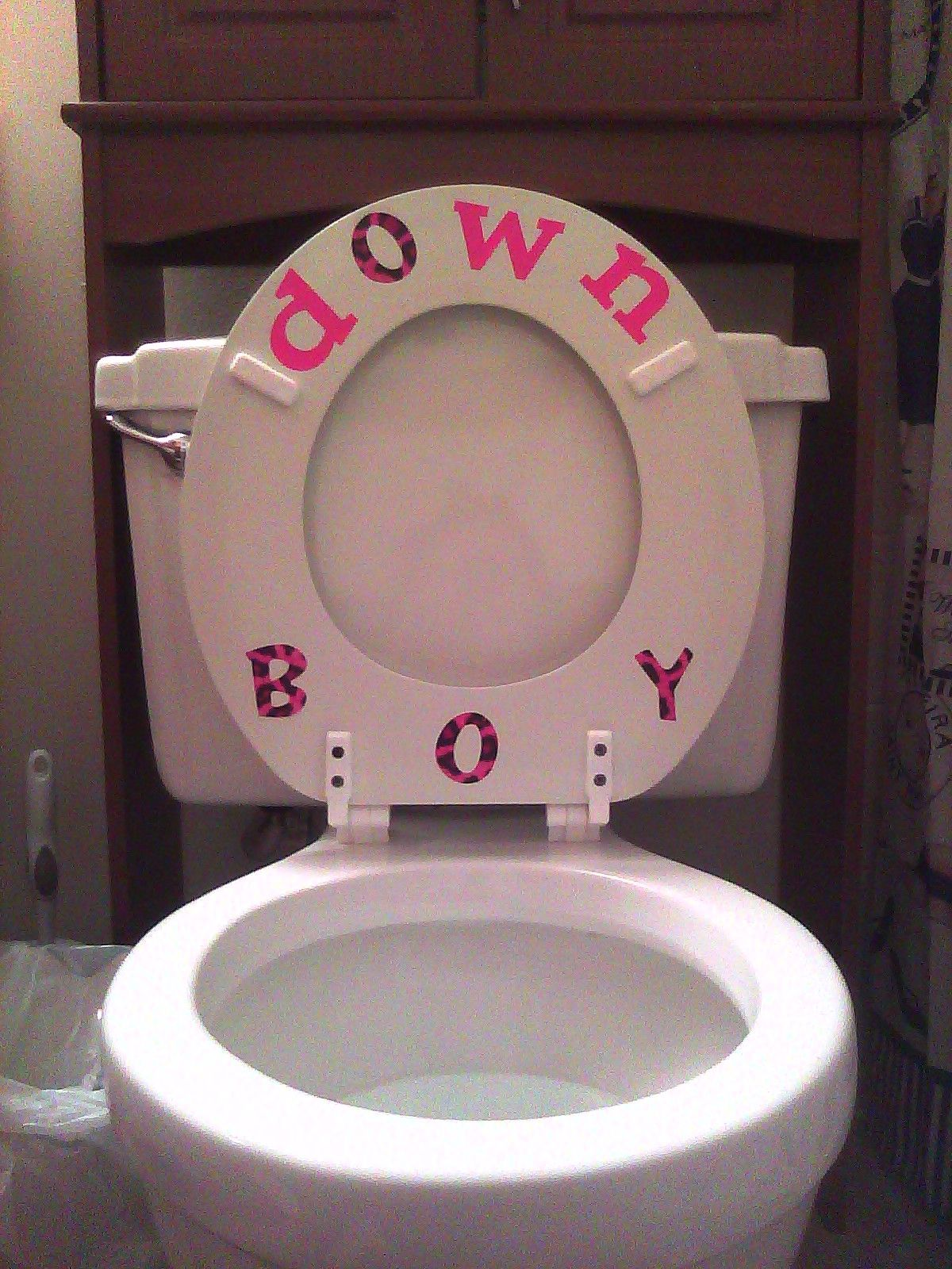 Kind Reminder For The Boys Toilet Decor Kitchen And Bath Home Toilet