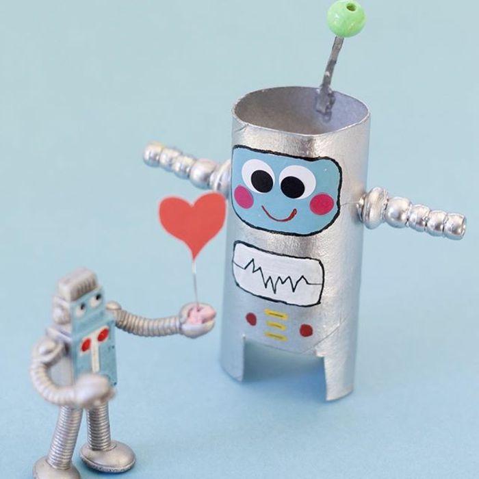 Bien connu robot diy rouleau de papier toilette | Objets déco | Pinterest  MH14