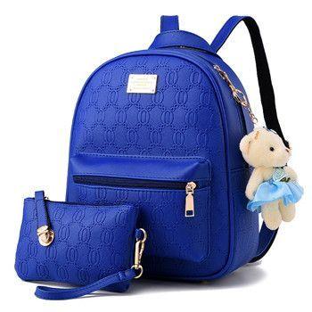 0360f77a383 2016 backpack women s vintage school backpacks for girls high quality women  leather backpacks mochilas infantis BD-176