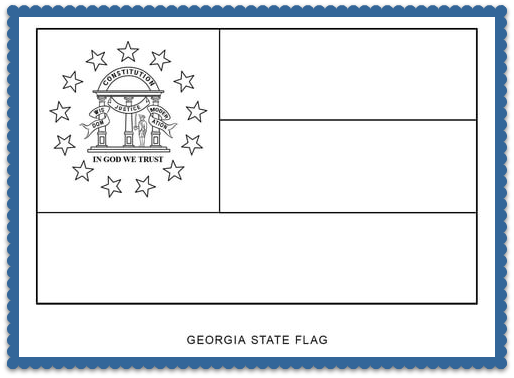 State Flag Coloring Pages By Usa Facts For Kids Usa Facts