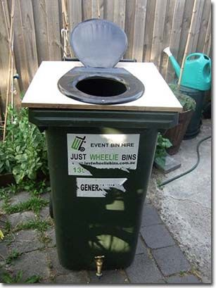 Composting Toilets Made From Wheelie Bins. Composting Toilets Made From Wheelie Bins   For the Home