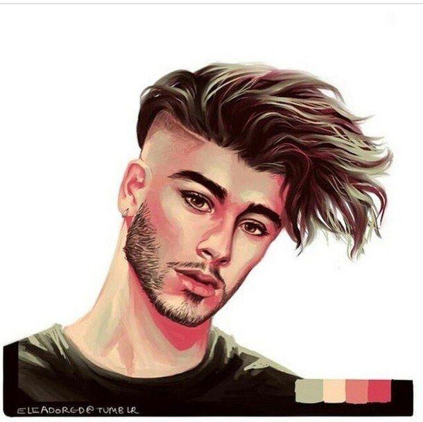 Zayn Malik Digital Painting Google Search