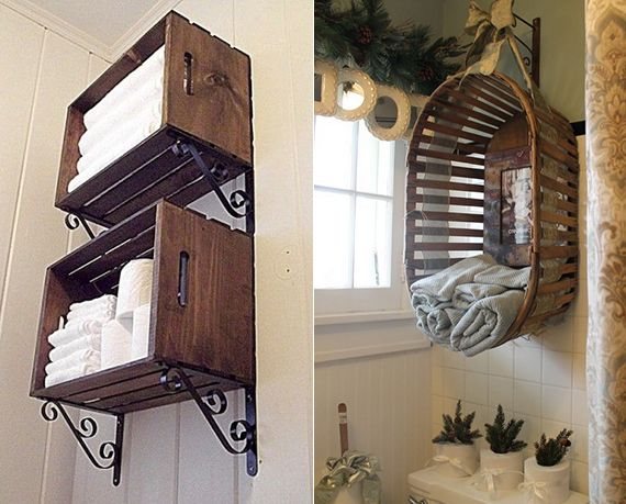 23 kreative Tipps zur Aufbewahrung und Ordnung im Badezimmer ...