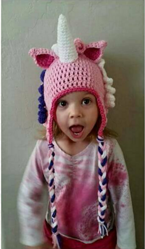 This is the pattern for my Child Size Unicorn Hat With modifications ...
