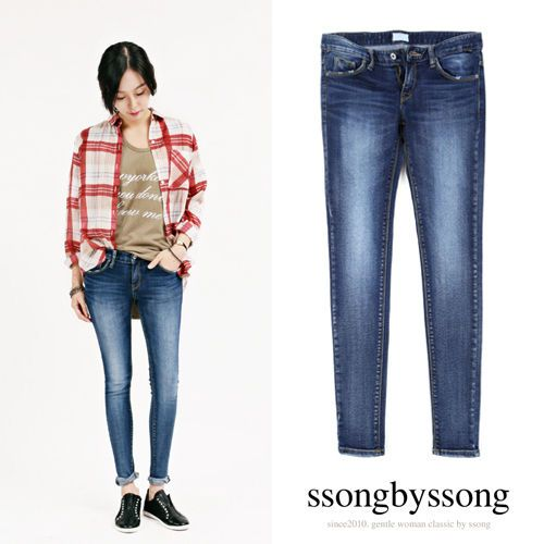 Spring Festival Low-Rise Skinny Jeans