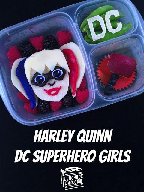 DC Superhero Girls Harley Quinn school lunch. & DC Superhero Girls Harley Quinn school lunch. | Easy Lunch Box ... Aboutintivar.Com